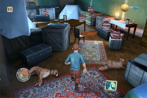 Gameloft Le avventure di Tintin