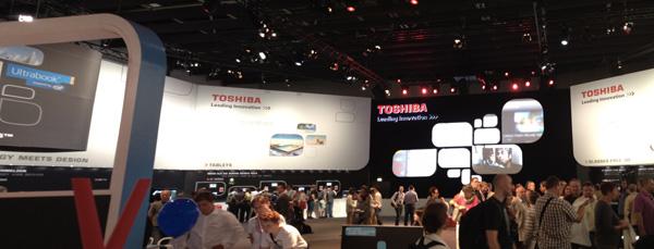 Stand Toshiba IFA 2012