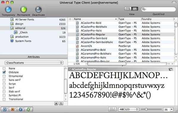 Extensis Universal Type, disponibile la versione per la CS6