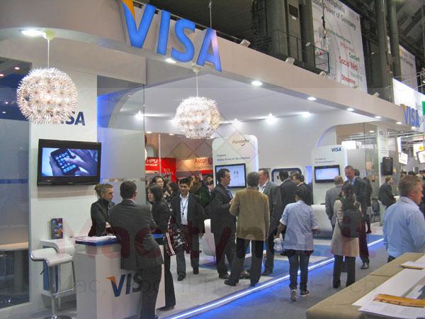 VISA NFC contatcless iPhone Mobile World Congress 2012