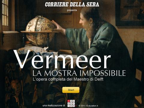 Vermeer - Corriere della Sera: il museo virtuale su iPad