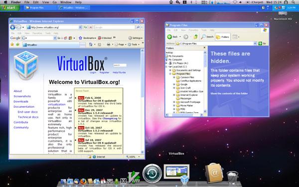 Oracle VirtualBox  Mac OS
