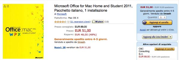 office mac sconto