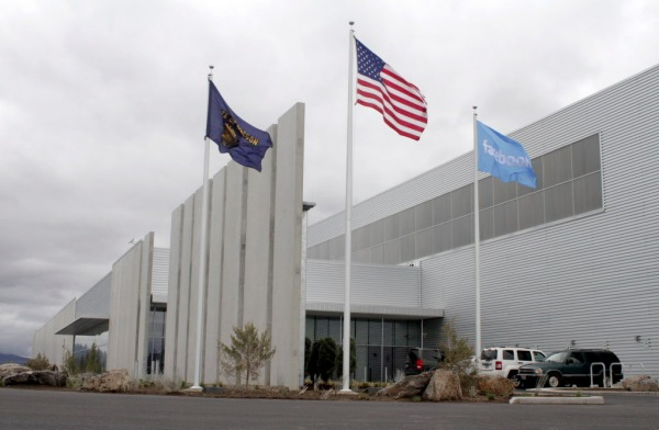 Facebook data center prineville, Oregon