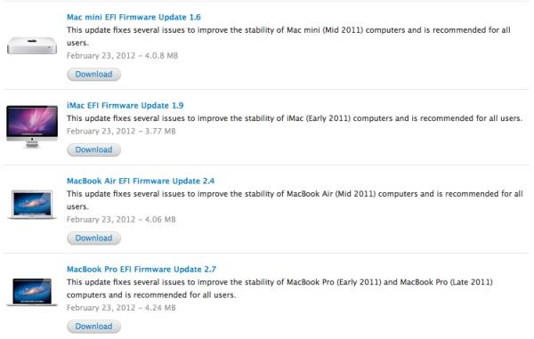 aggiornamenti firmware