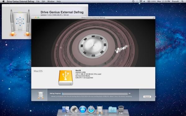 drive genius external defrag