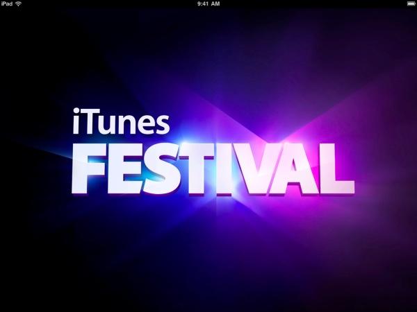 itunes music festival iphone