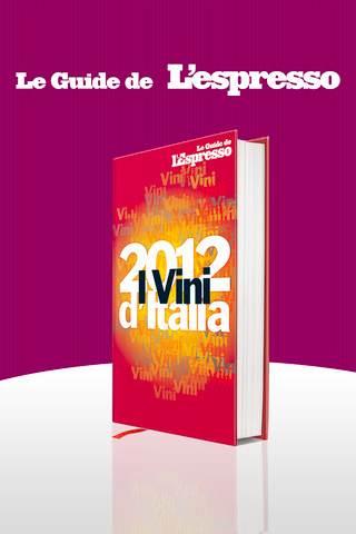 guida vini d'Italia 2012