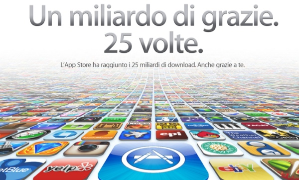 25 miliardi download app store