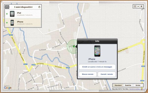 Trova i mio iPhone
