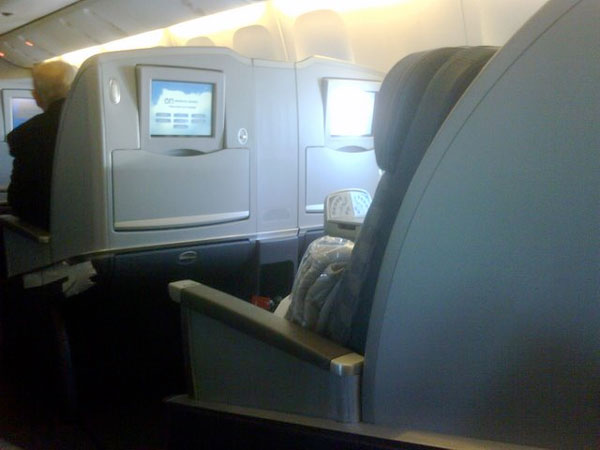 american airilines intrattenimento di bordo