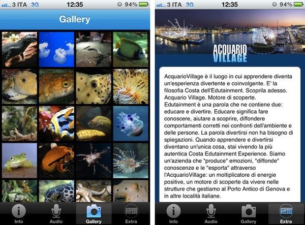 acquario di genova applicazione ufficiale iPhone