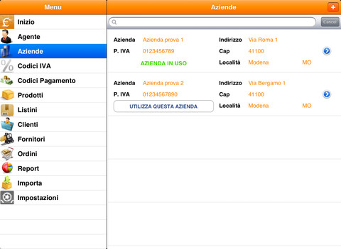 Agente di Commercio per iPad