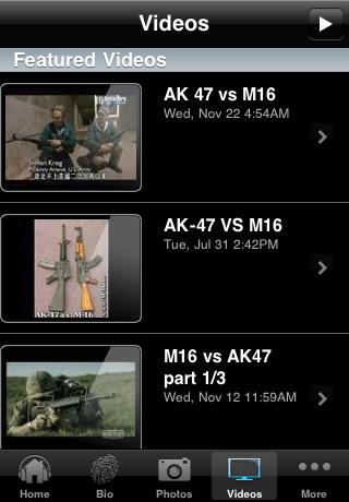 AK-47 vs M16
