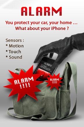 Allarme Antifurto Pro: mettete l'antifurto al vostro iPhone