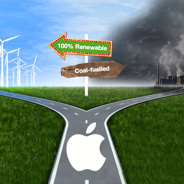 Greenpeace apple bivio