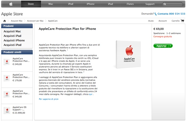 apple care iPhone Apple Store online