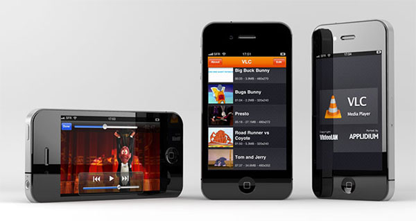 VLC iPhone touch