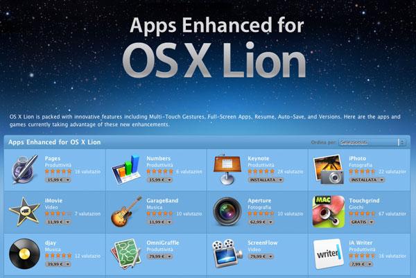 app per lion mac app store