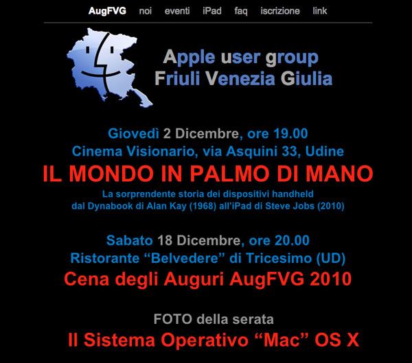 AugFVG - Apple User Group Friuli Venezia Giulia