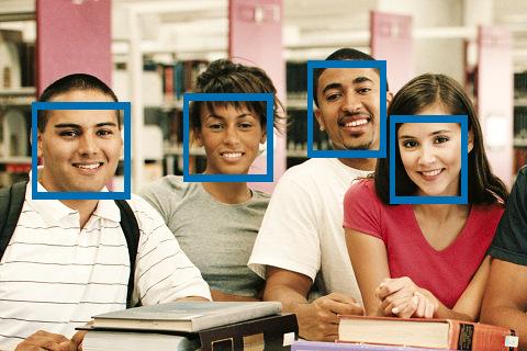 Autoscatto a riconoscimento facciale