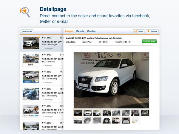 autoscout24 facile vendere o cercare un 39 auto usata con iphone. Black Bedroom Furniture Sets. Home Design Ideas