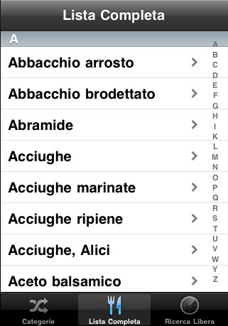 babelmenu iphone touch