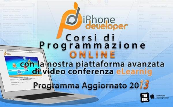 iPhoneDeveloper Corso Base online