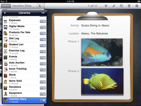 Bento iPad