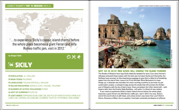 best in travel 2012