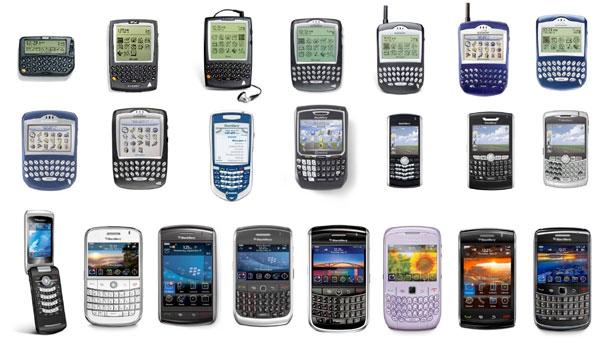 blackberry evoluzione