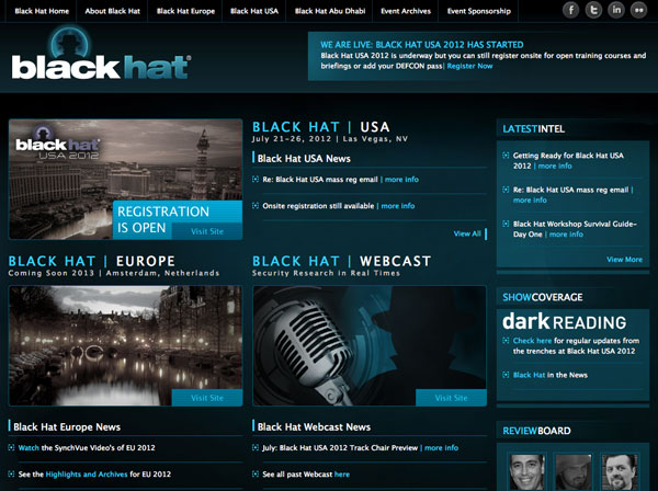 black hat sito