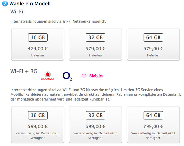 Germania blocco vendite iPhone 4 e 3GS