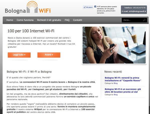 Bologna Wi-Fi gratis