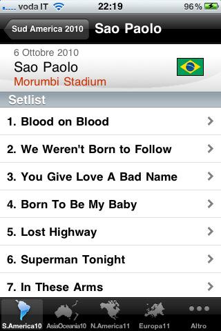 Bon Jovi Tour Guide