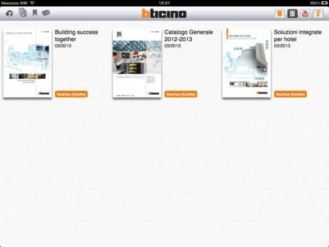 BTicino Cataloghi per iPad
