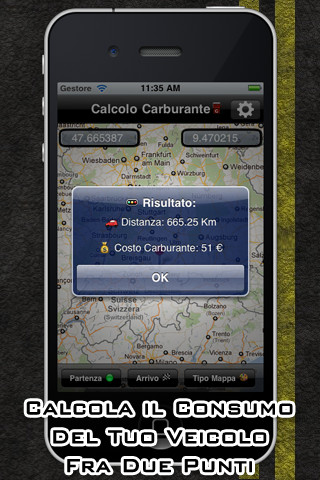 Calcolo Carburante