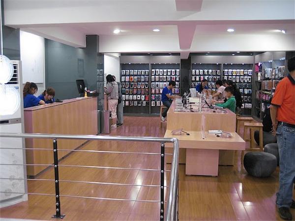 Cina Apple Store fasulli
