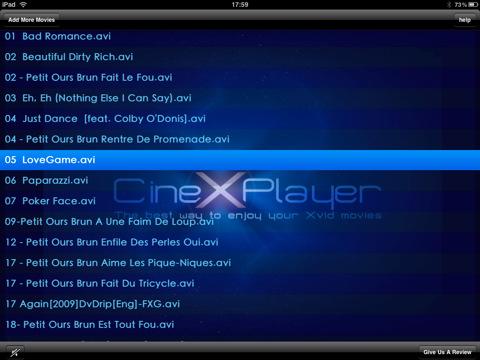CineXPlayer