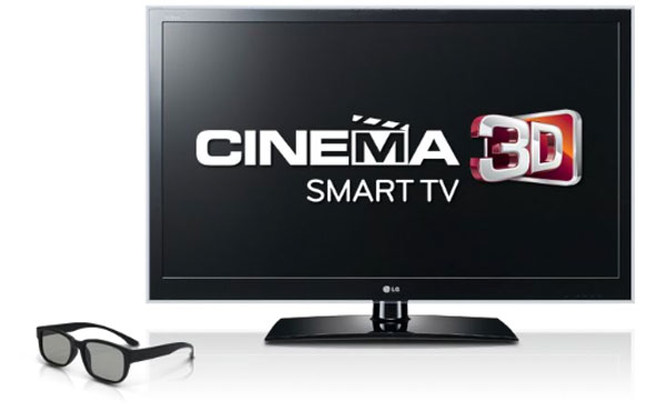 LG 3D TV Smart