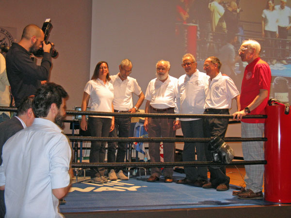 Team Programma 101 Olivetti vincitori