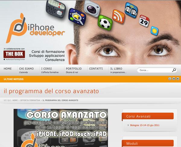 iPhoneDeveloper corso avanzato programma