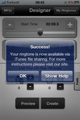 Da MP3 a suoneria