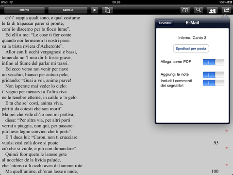 Dathlon annoteBook Dante Divina Commedia