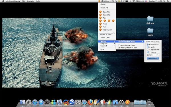 desktopCinema per Mac