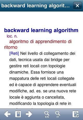 Dizionario enciclopedico di informatica Inglese-Italiano, Italiano-Inglese