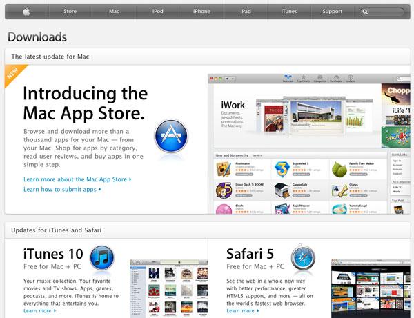 Apple Downloads