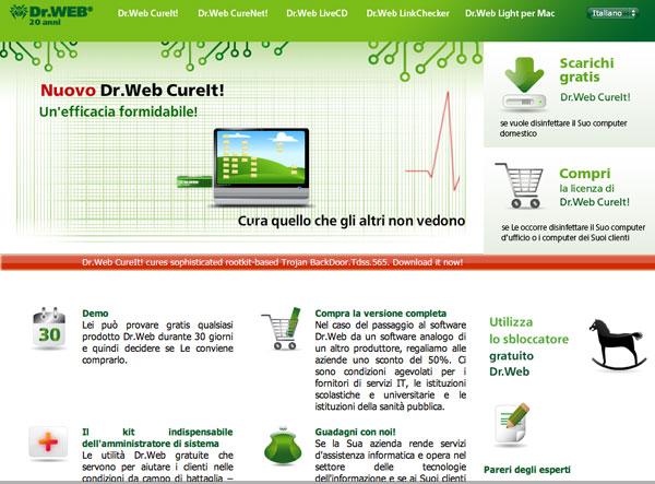 Dr web sito italiano