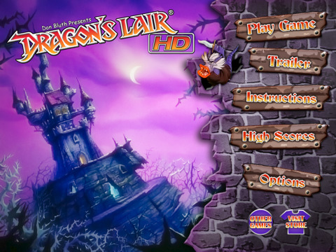 Dragon's Lair HD iPad