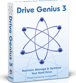 Drive Genius 3 scatola box